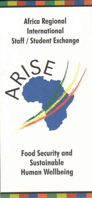 ARISE -  Food Security and Sustainable Human Wellbeing